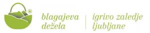 blagajeva dežela slovenia green logo