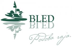 bled slovenia green logo