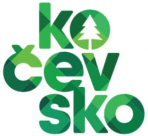 kočevsko slovenia green logo