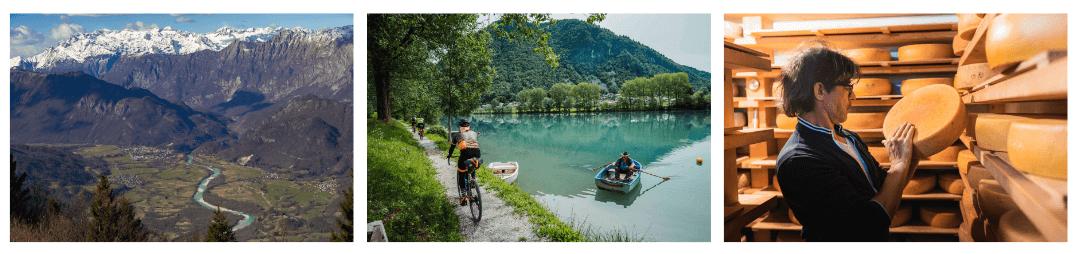 Soča valley cycling