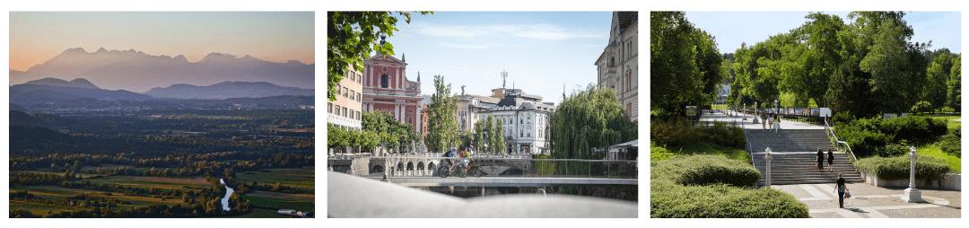 Cycling in Ljubljana