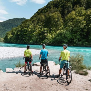 Soča valley cycling route